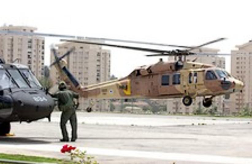 IDF chopper 224.88 (photo credit: Ariel Jerozolimski)
