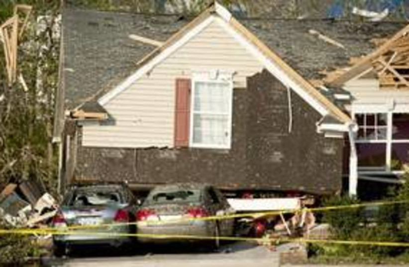 North Carolina US tornadoes_311 (photo credit: Reuters)