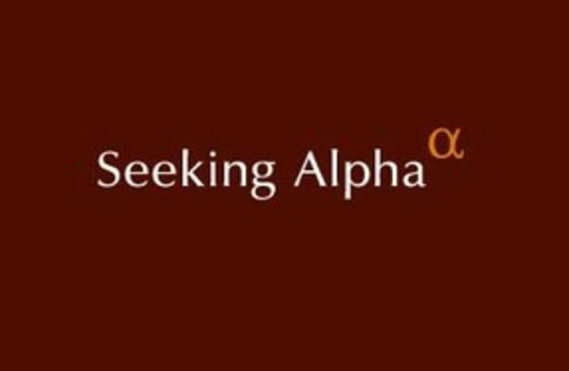Seeking Alpha logo 311 (photo credit: Courtesy)