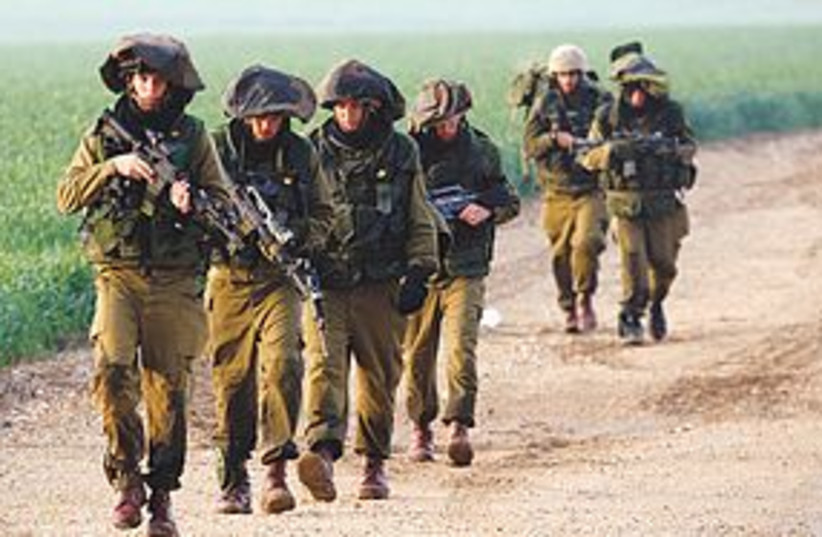 IDF soldiers (photo credit: REUTERS)