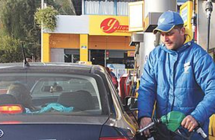 Gas prices (photo credit: Marc Israel Sellem/The Jerusalem Post)