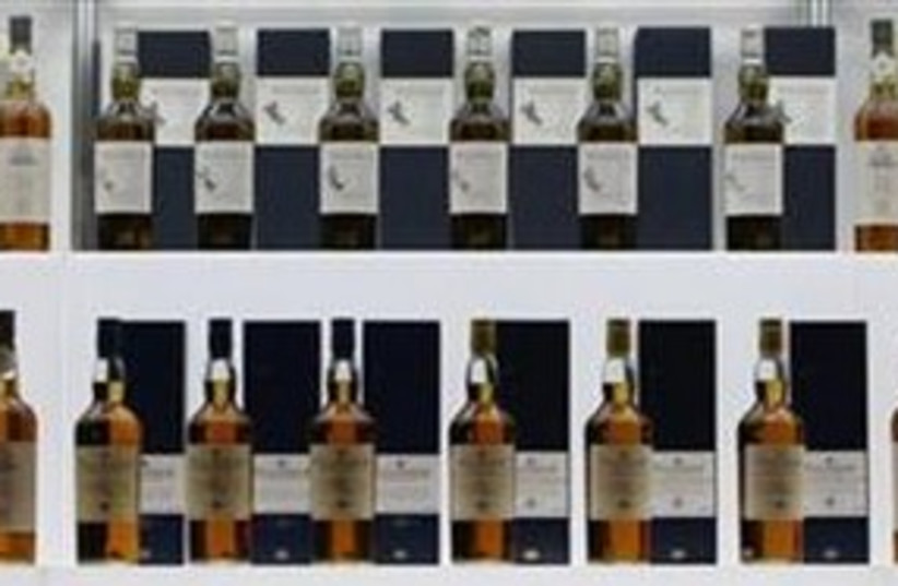 Whiskey bottles 311 (R) (photo credit: Reuters/Issei Kato)