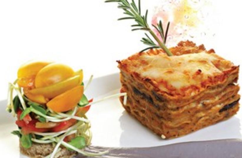 Matza Lasagna 311 (photo credit: Gilad Larom)