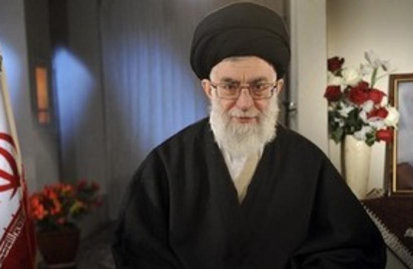Iran Supreme Leader Ayatollah Khameini_311 (photo credit: Reuters)