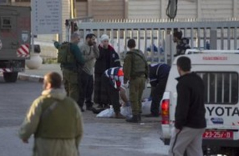 Nablus shooting 311 (photo credit: Reuters)