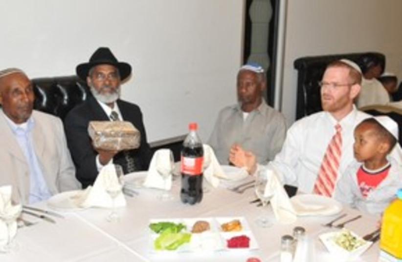 Ethiopian Seder 311 (photo credit: Courtesy)