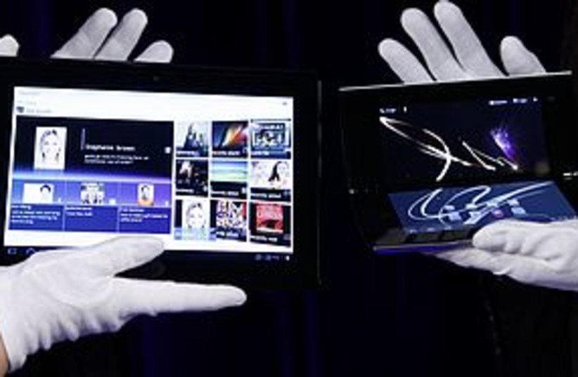 Sony Tablet 311 (photo credit: REUTERS/Kim Kyung-Hoon)