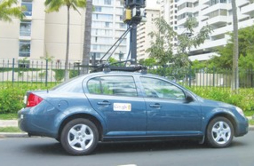 Google Street View car 311 (photo credit: Wikicommons)