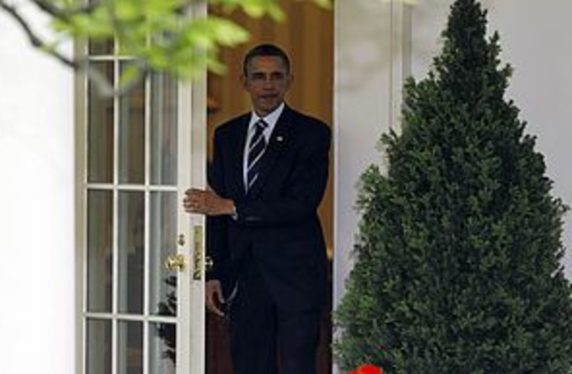 Obama white house 311 (photo credit: REUTERS)