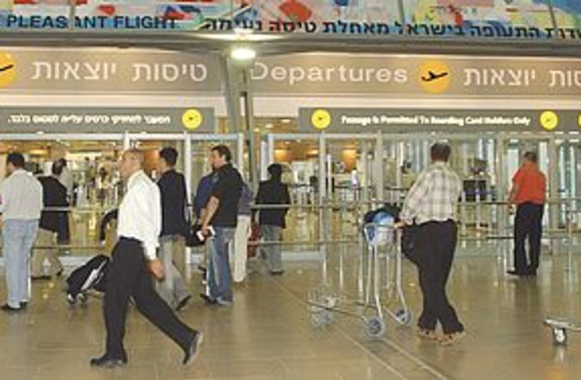Ben Gurion airport 311 (photo credit: Ariel Jerozolimski)