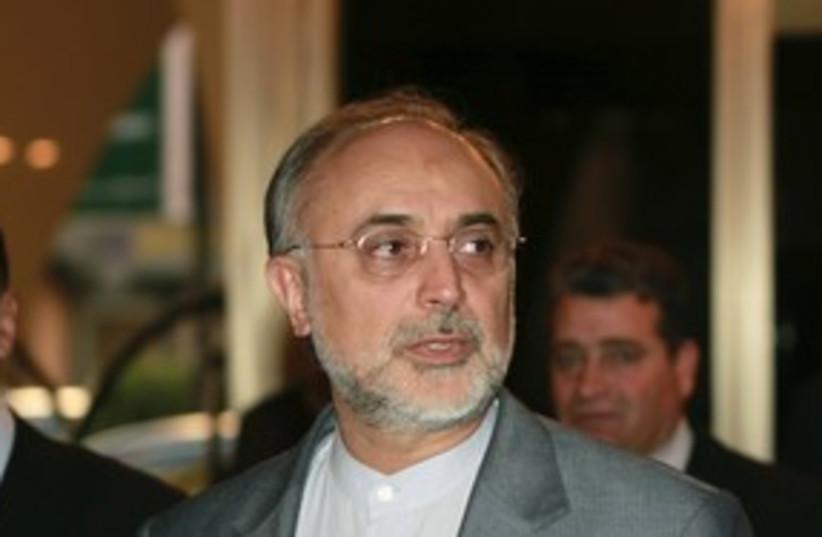 Ali Akbar Salehi_311 reuters (photo credit: Khaled Al Hariri / Reuters)