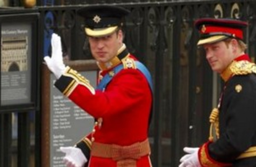 prince william westminster abbey_311 reuters (photo credit: REUTERS/Phil Noble)
