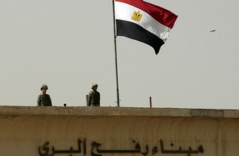 rafah border crossing_311 reuters (photo credit: Ismail Zaydah / Reuters)
