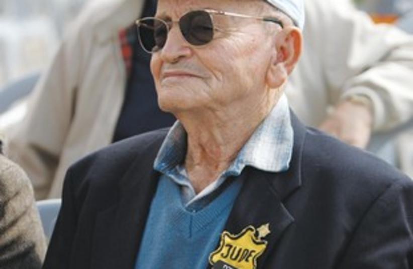 Holocaust survivor MORDECHAI FUCHS 311 (photo credit: REUTERS)