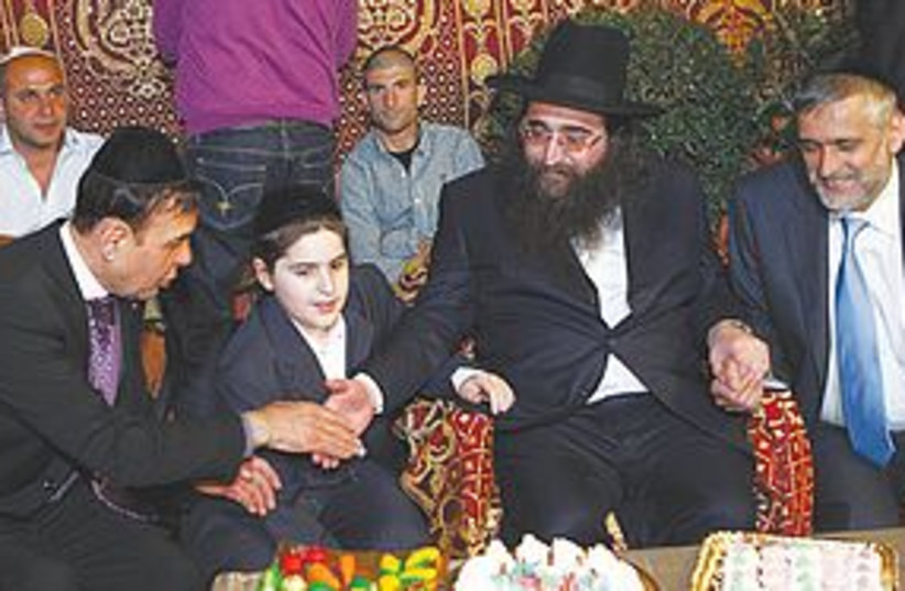 rabbi pinto eli yishai 311 (photo credit: Ilan Cirota)