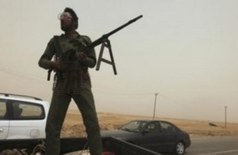 Libyan rebels 311 (photo credit: REUTERS/Mohammed Salem)