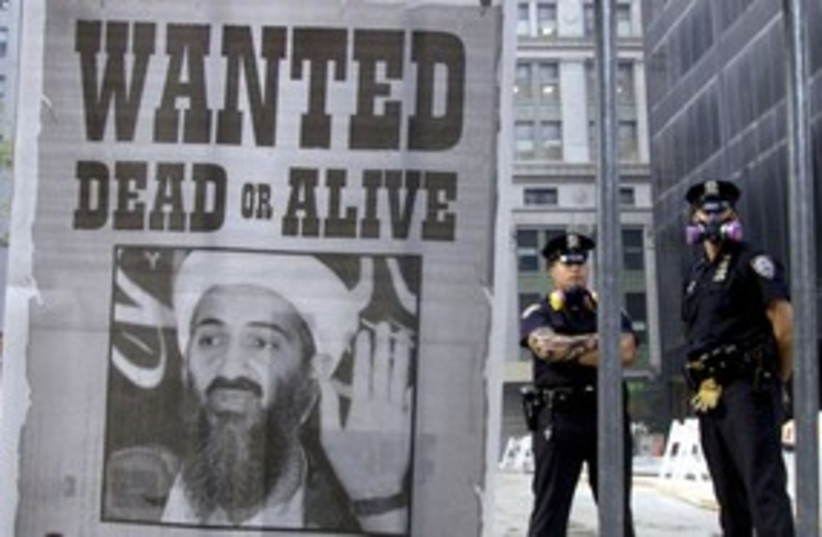 Bin Laden wanted poster 311 R (photo credit: Reuters)