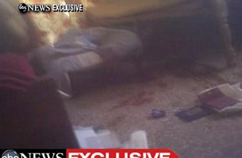 ABC footage shows where bin Laden was killed