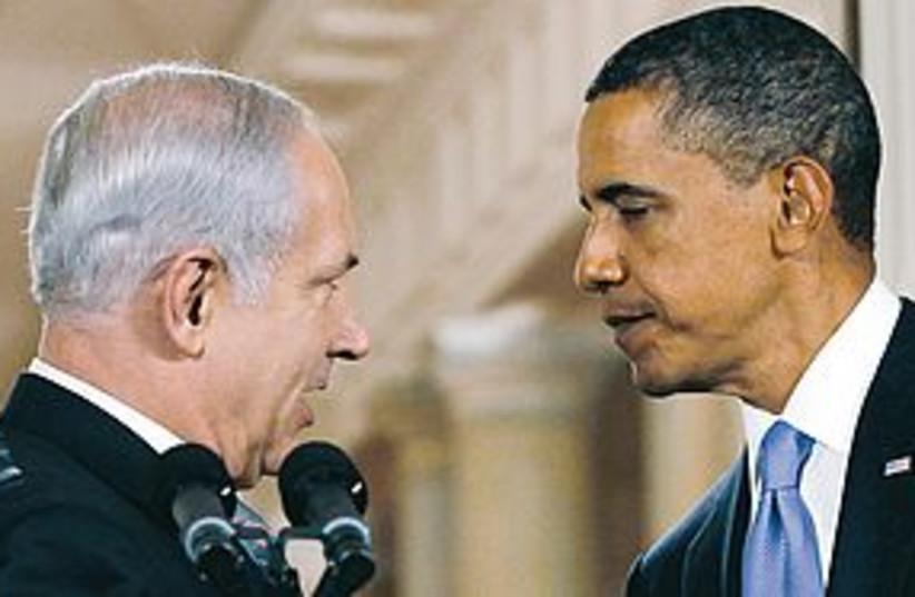 Obama Netanyahu 311 (photo credit: REUTERS)
