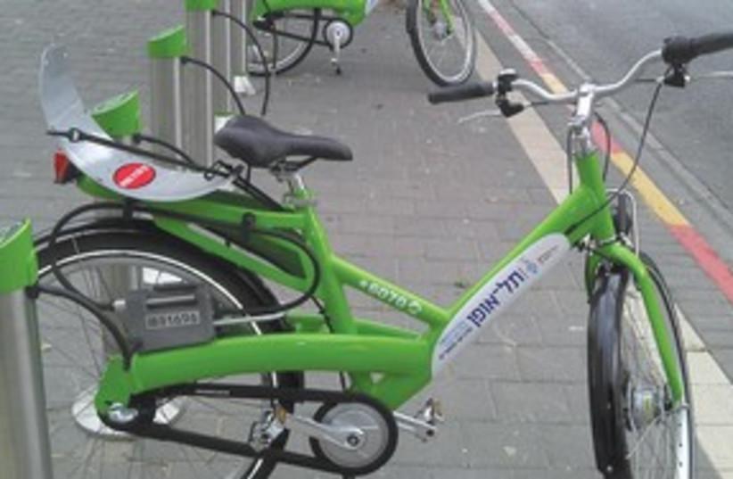 Tel Aviv bicycles 311 (photo credit: Tel Aviv Municipality)
