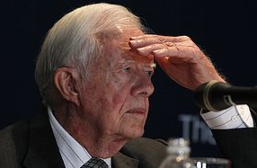 jimmy carter 311 (photo credit: REUTERS)