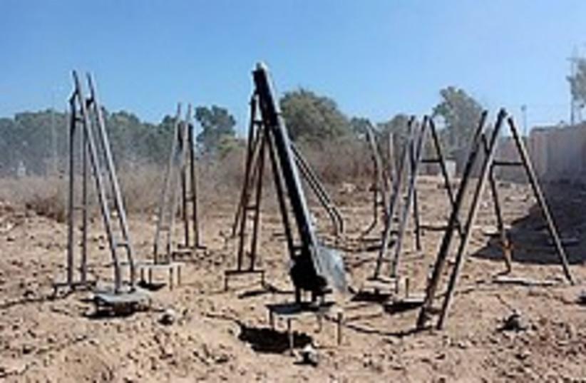 Kassam launchers 224.88 (photo credit: IDF [file])