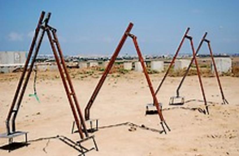 Kassam launchers new 224 (photo credit: IDF [archive])