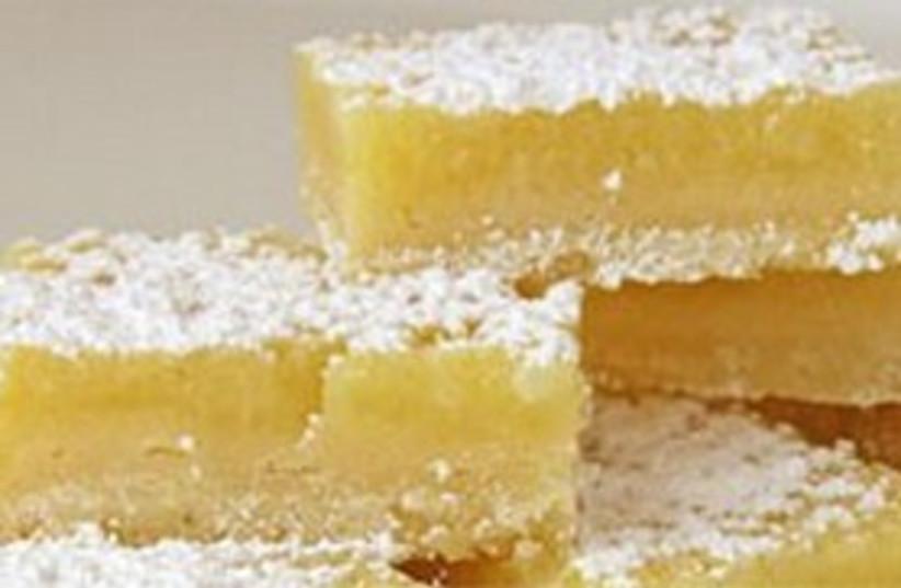 Lemon bars 311 (photo credit: whatscookingamerica.net)