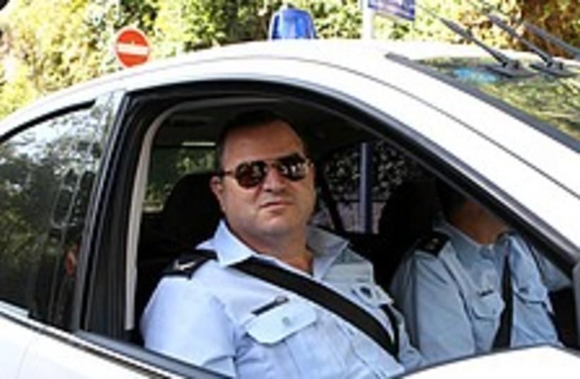 police at pm house 224 (photo credit: Ariel Jerozolimski)