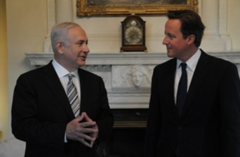 netanyahu and cameron_311 (photo credit: Amos Ben-Gershom/GPO)