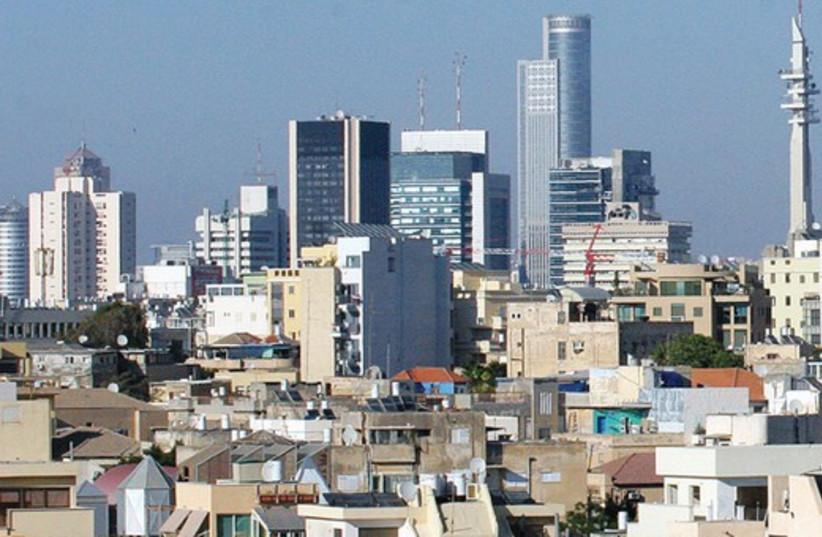 Tel Aviv skyline  521 (photo credit: Marc Israel Sellem)