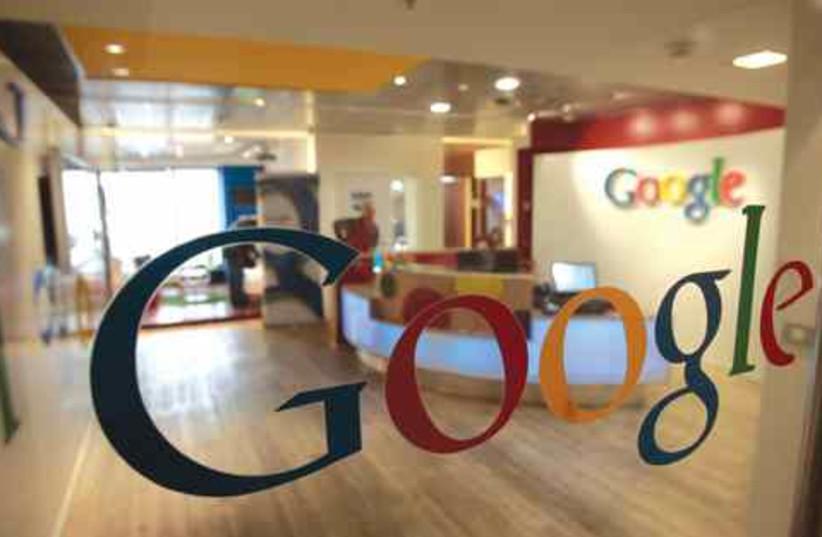 Google in Israel (photo credit: Baz Ratner/Reuters)