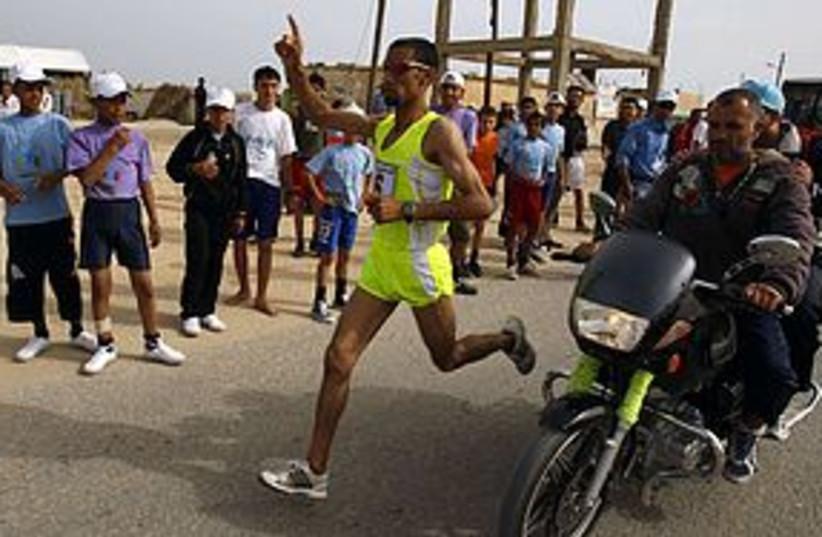 gaza marathon 311 (photo credit: REUTERS)
