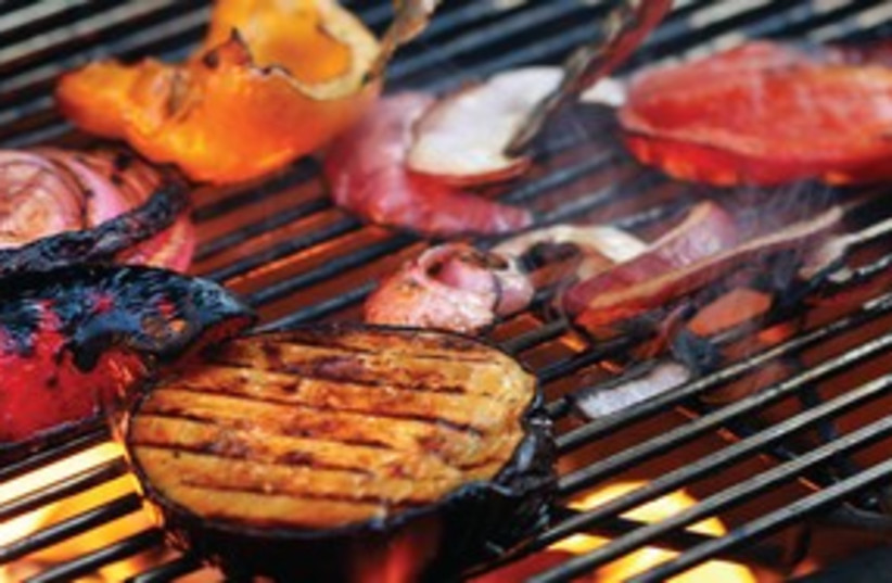 grill some vegetables 311 (photo credit: MCT)