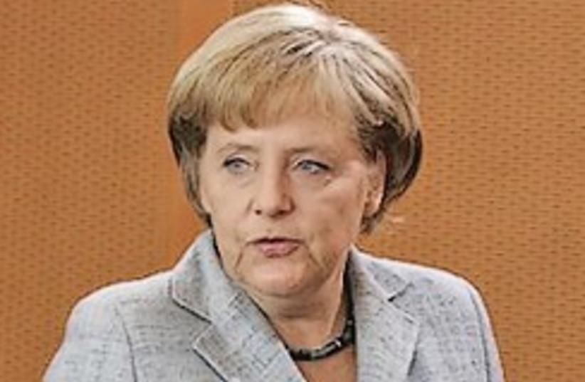 German Chancellor Angela Merkel (photo credit: AP)