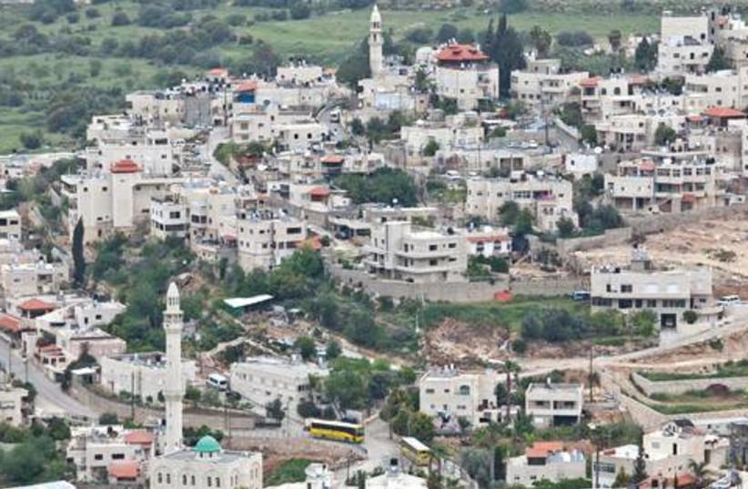 The village of Ein Rafa, west of Jerusalem 521 (photo credit: Marc Israel Sellem)