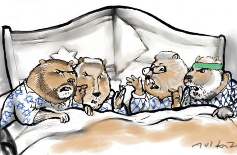 strange bedfellows_521 (do not publish again) (photo credit: Avi Katz)