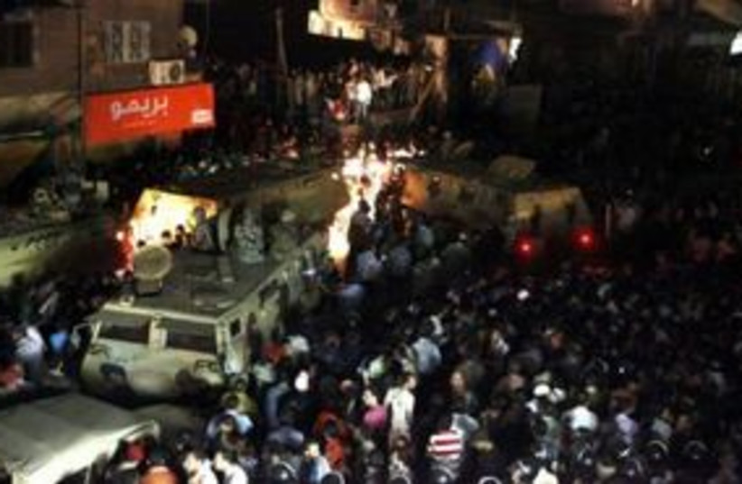 Egypt Christian clashes 311 (photo credit: REUTERS)