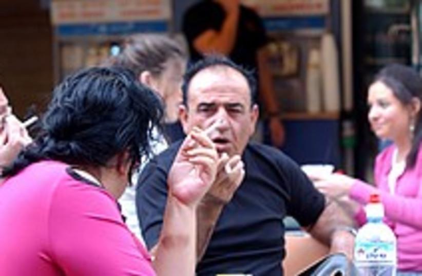 smokers Jerusalem 224.88 (photo credit: Ariel Jerozolimski)
