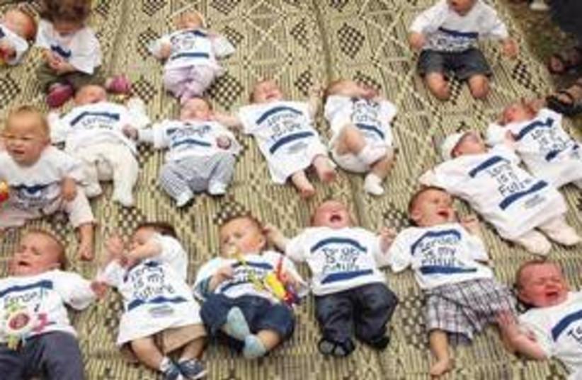 BABIES BORN in Israel 311 (photo credit: Sasson Tiram)