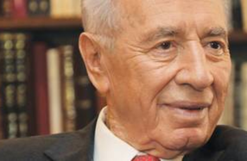 President Shimon Peres (photo credit: Marc Israel Sellem)