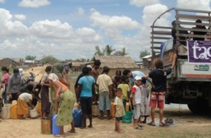 Tag NGO humanitarian project 311 (photo credit: Courtesy)
