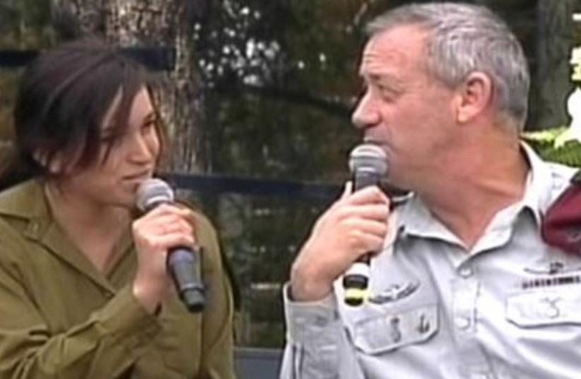 Ehud Barak at Beit HaNessi ceremony