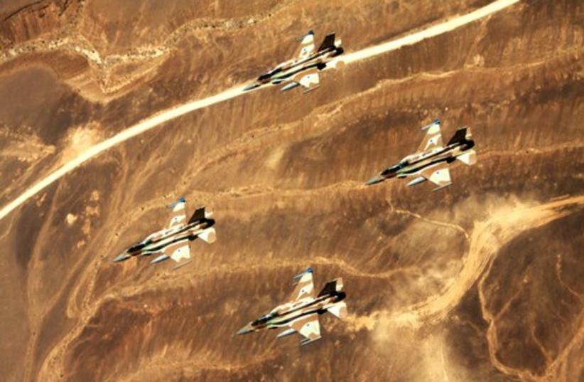 IAF aircraft (illustrative).