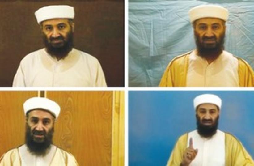 Osama bin Laden 311 (photo credit: REUTERS)