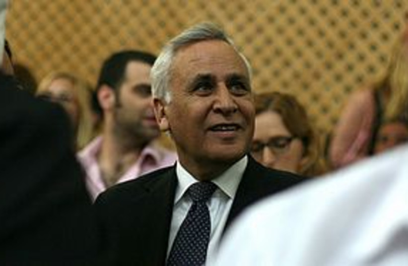 katsav in court wistful 311 (photo credit: Lior Mizrahi/ Pool)