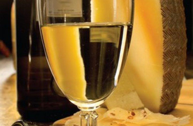 white wine with cheese 311 (photo credit: MCT)