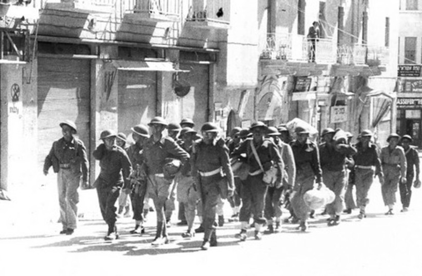 Jewish soldiers in Jerusalem 1948 521 (photo credit: Fred Csasznik)