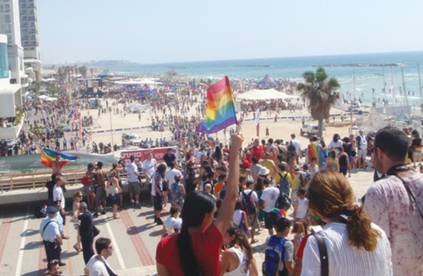 Tel Aviv Gay Pride Parade 521 (photo credit: Yoni Cohen)