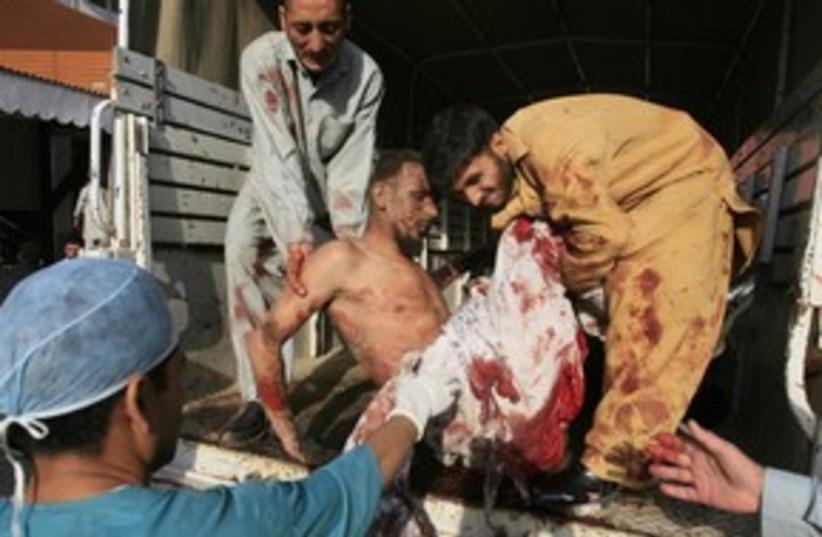 pakistan suicide bombing_311 (photo credit: Stringer Pakistan / Reuters)